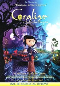 Coraline e la porta magica - locandina del film