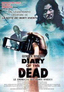 Locandina- Diary of the Dead - Le cronache dei morti viventi